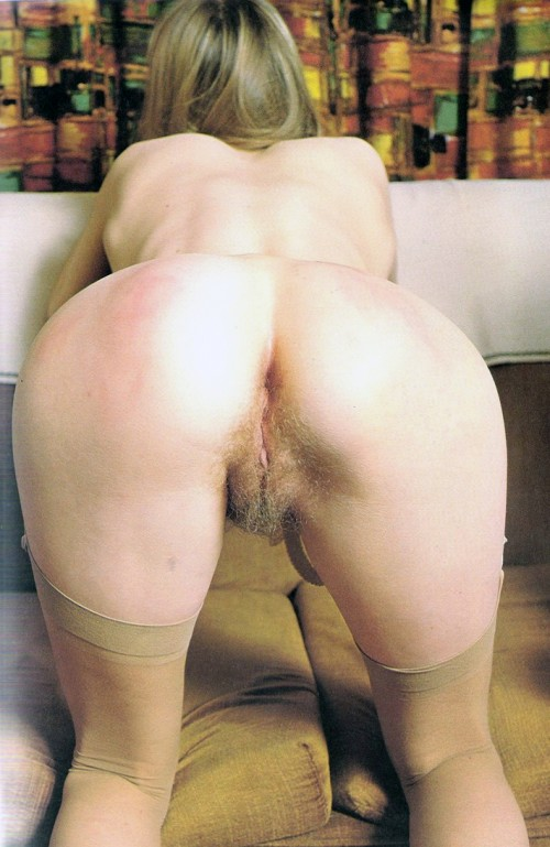 A blonde's ass designed for jerking off